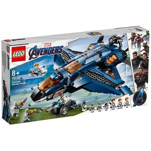 LEGO Super Heroes: Quinjetul suprem al Razbunatorilor 76126, 8 ani+, 840 piese