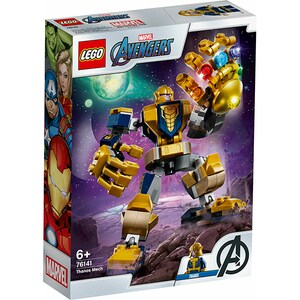 LEGO Super Heroes: Robot Thanos 76141, 6 ani+, 152 piese