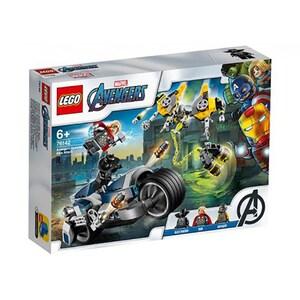 LEGO Super Heroes: Atacul Razbunatorilor cu motociclete 76142, 6 ani+, 226 piese