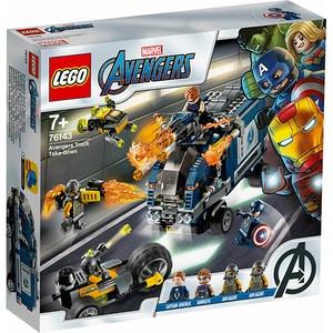 LEGO Super Heroes: Razbunatorii - distrugerea camionului 76143, 7 ani+, 477 piese