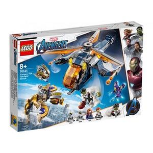 LEGO Super Heroes: Razbunatorii - Hulk doboara elicoptere 76144, 8 ani+, 482 piese