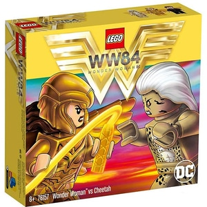 LEGO Super Heroes: Wonder Woman vs Cheetah 76157, 8 ani+, 371 piese