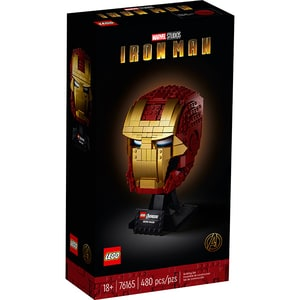 LEGO Super Heroes: Casca Iron Man 76165, 18 ani+, 480 piese