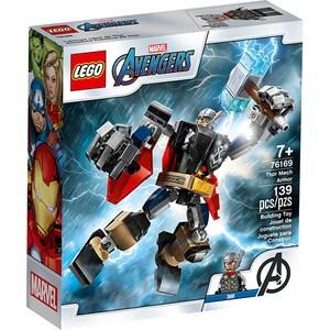 LEGO Super Heroes: Armura lui Thor 76169, 7 ani+, 139 piese