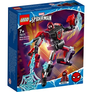 LEGO Super Heroes: Armura robotului Miles Morales 76171, 7 ani+, 125 piese