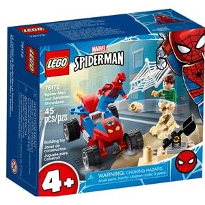 LEGO Super Heroes: Confruntarea dintre Omul paianjen si Sandman 76172, 4 ani+, 45 piese