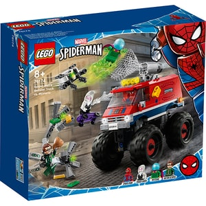 LEGO Super Heroes: Camionul gigant al Omului paianjen contra Mysterio 76174, 8 ani+, 439 piese