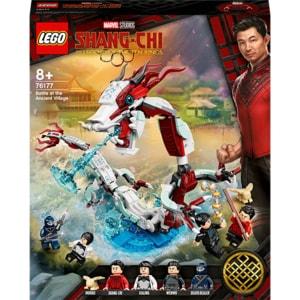 LEGO Super Heroes: Batalia din satul Antic 76177, 8 ani+, 400 piese