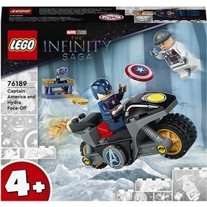 LEGO Super Heroes: Marvel infruntarea dintre Captain America si Hydra 76189, 4 ani+, 49 piese