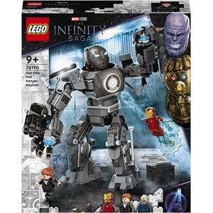 LEGO Super Heroes: Iron Monger se dezlantuie 76190, 9 ani+, 479 piese