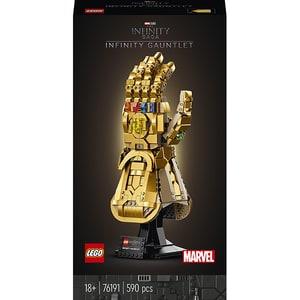 LEGO Super Heroes: Manusa Infinitului 76191, 18 ani+, 590 piese