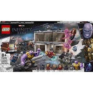 LEGO Super Heroes: Sfarsitul jocului Batalia finala 76192, 8 ani+, 527 piese