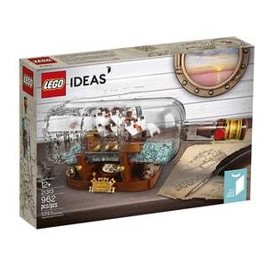 LEGO Ideas: Vapor in sticla 92177, 12 ani+, 962 piese