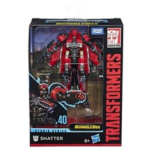 Figurina TRANSFORMERS Shatter seria Deluxe Studio E0701_E3831, 6 ani+, rosu-gri inchis