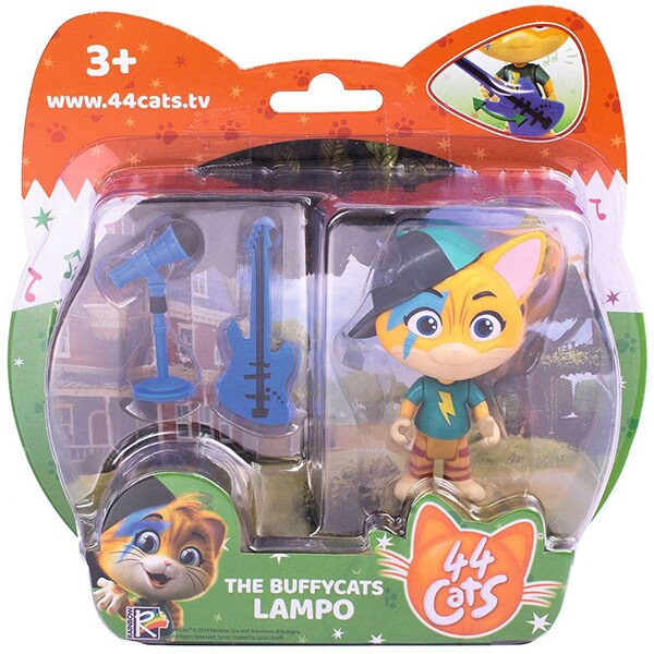 Figurina SIMBA 44 Cats Lampo 7600180110, 3 ani+, multicolor