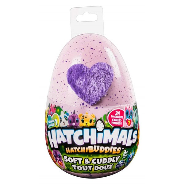 Jucarie de plus HATCHIMALS Amicii in oua surpriza 6045430, 3 ani+, multicolor