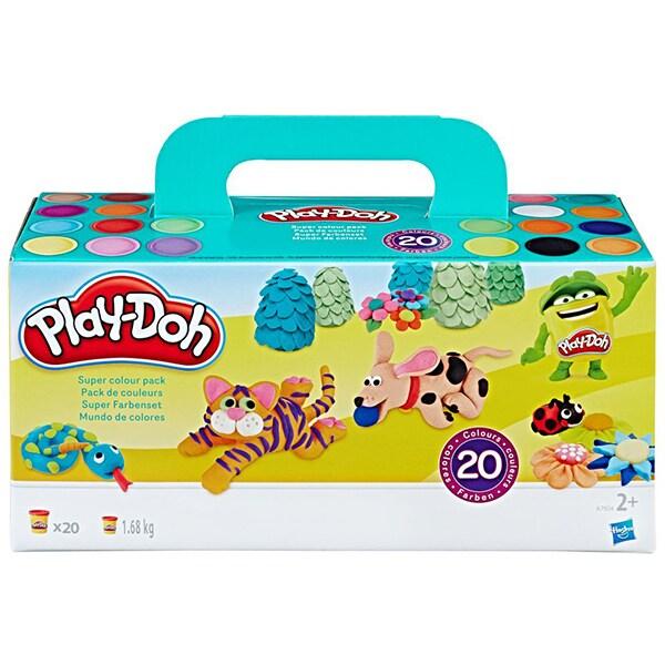 Set PLAY DOH 20 rezerve colorate A79242, 2 ani+, multicolor