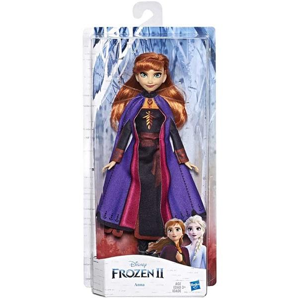 Papusa HASBRO Disney Frozen II Anna E6710, 3 ani+, multicolor