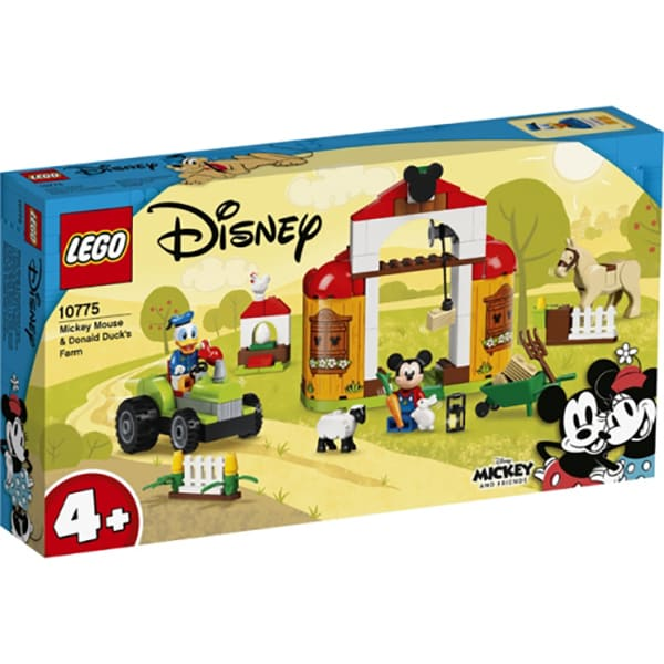 LEGO Mickey and Friends: Ferma lui Mickey Mouse si Donald Duck 10775, 4 ani+, 118 piese