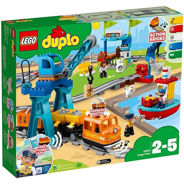 LEGO Duplo: Marfar 10875, 2 - 5 ani, 105 piese