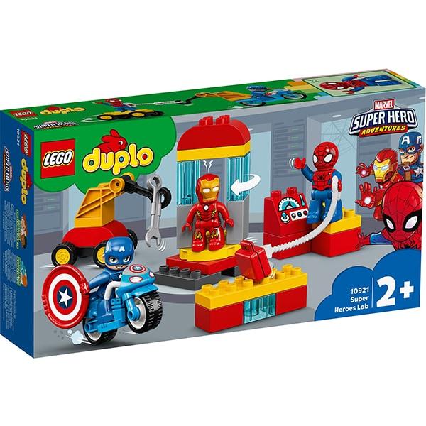 LEGO Duplo: Laboratorul Super Heroes: 10921, 2 ani+, 30 piese