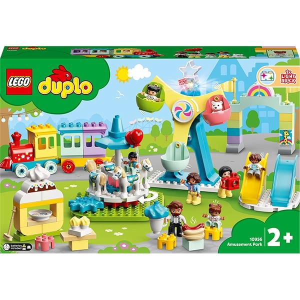 LEGO DUPLO: Parc de distractii 10956, 2 ani+, 95 piese