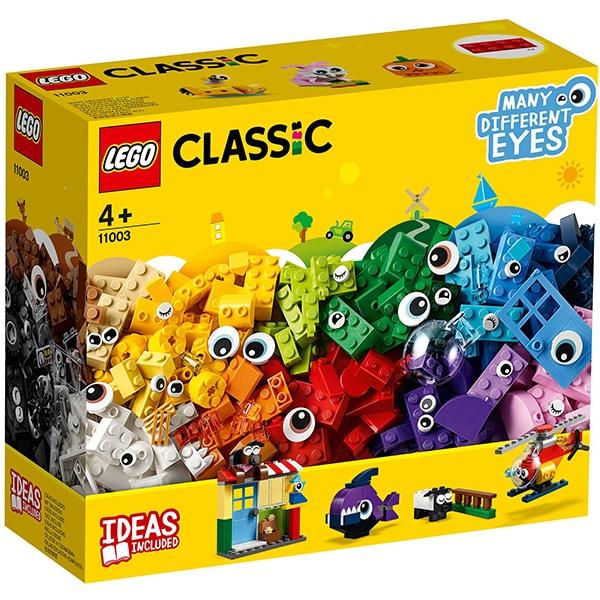 LEGO Classic: Caramizi si ochi 11003, 4 ani+, 451 piese