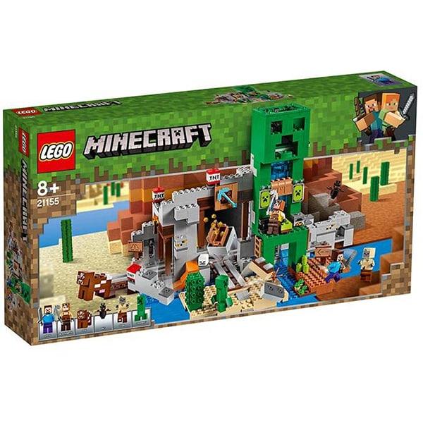 LEGO Minecraft: Mina Creeper 21155, 8 ani+, 834 piese