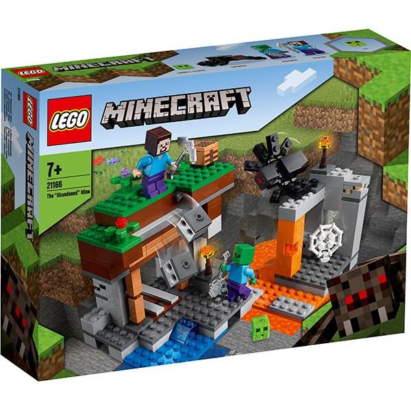 LEGO Minecraft: Mina abandonata 21166, 7 ani+, 248 piese