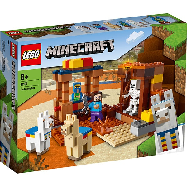 LEGO Minecraft: Punct comercial 21167, 8 ani+, 201 piese