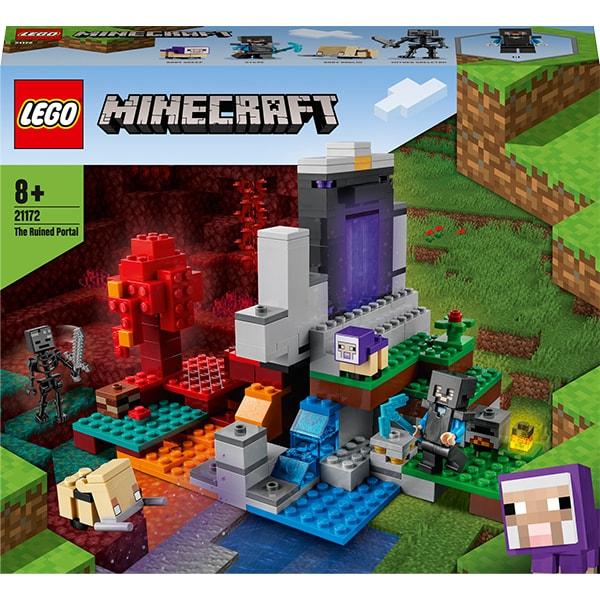 LEGO Minecraft: Portalul ruinat 21172, 8 ani+, 316 piese