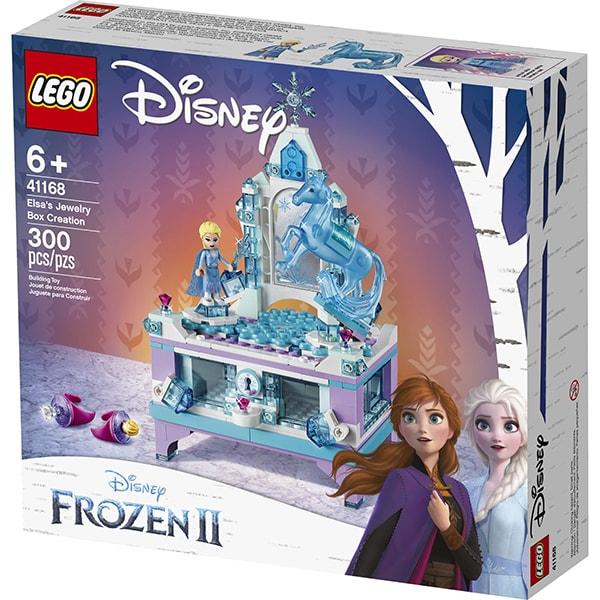 LEGO Disney Princess: Cutia de bijuterii a Elsei 41168, 6 ani+, 300 piese