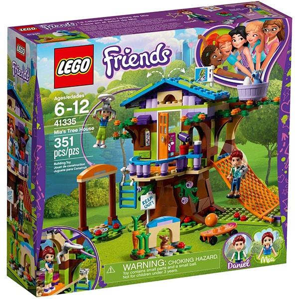 LEGO Friends: Casuta din copac a Miei 41335, 6 - 12 ani, 351 piese
