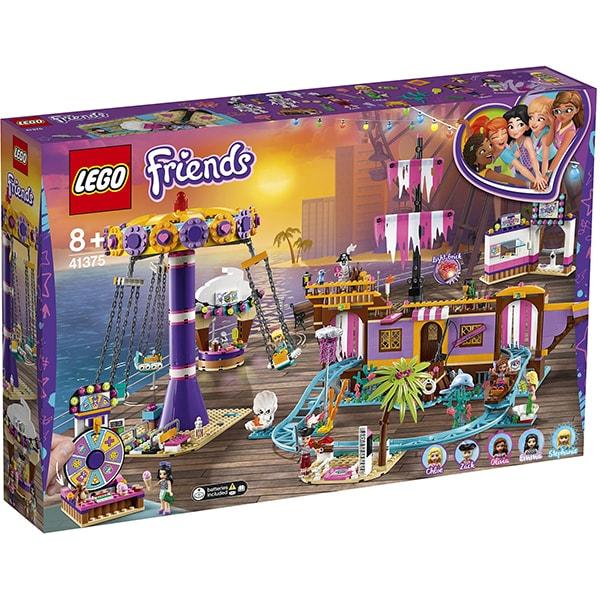 LEGO Friends: Debarcaderul cu distractii din Heartlake City 41375, 8 ani+, 1251 piese