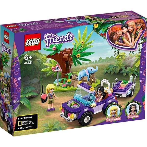 LEGO Friends: Salvarea puiului de elefant din jungla 41421, 6 ani+, 203 piese