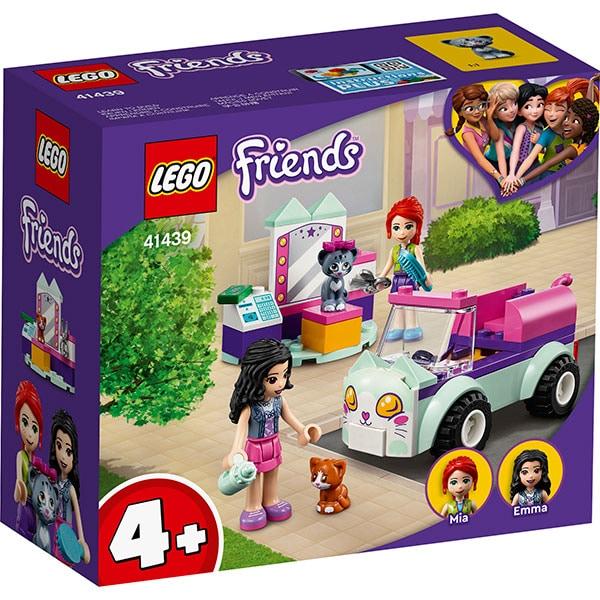 LEGO Friends: Masina pentru ingrijirea pisicilor 41439, 4 ani+, 60 piese