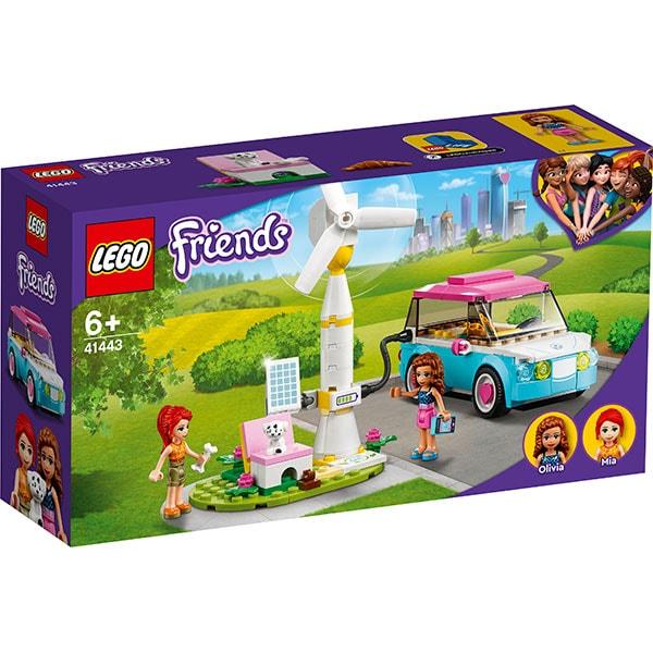 LEGO Friends: Masina electrica a Oliviei 41443, 6 ani+, 183 piese