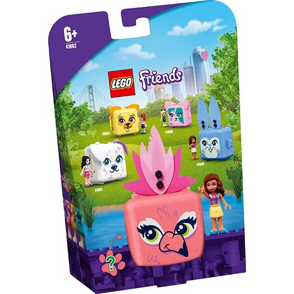 LEGO Friends: Cubul flamingo al Oliviei 41662, 6 ani+, 41 piese