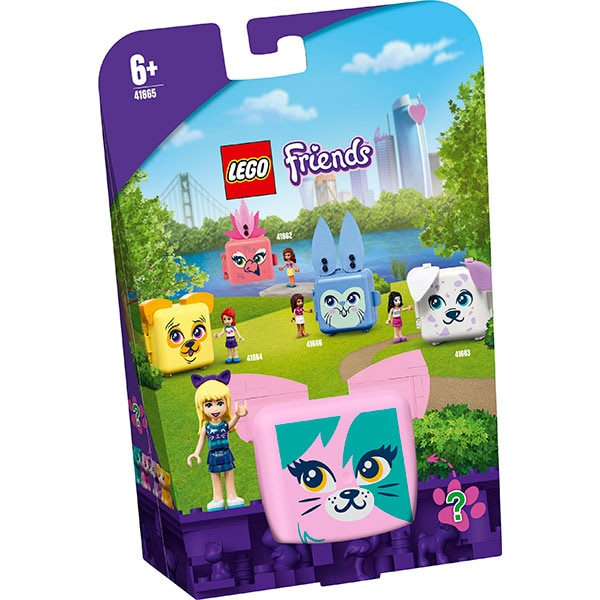 LEGO Friends: Cubul pisica al Stephaniei 41665, 6 ani+, 46 piese