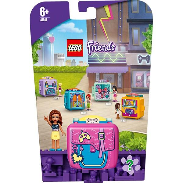 LEGO Friends: Cubul de jocuri al Oliviei 41667, 6 ani+, 64 piese
