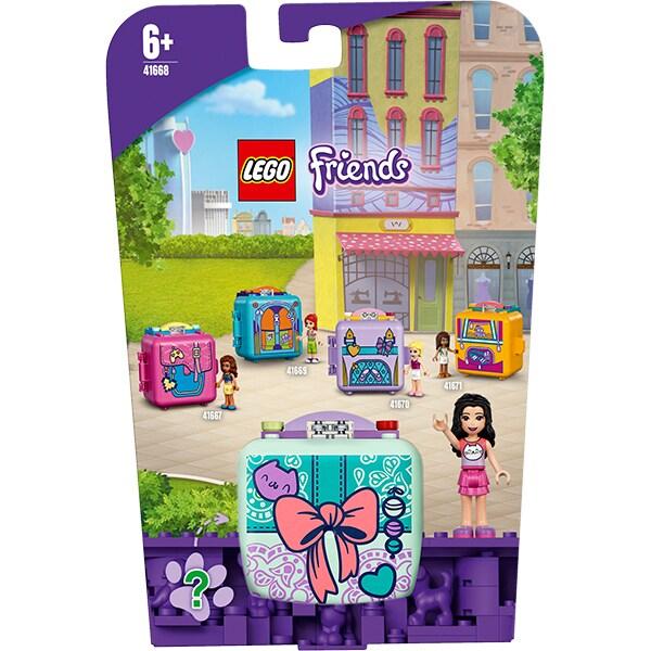 LEGO Friends: Cubul de moda al Emmei 41668, 6 ani+, 58 piese