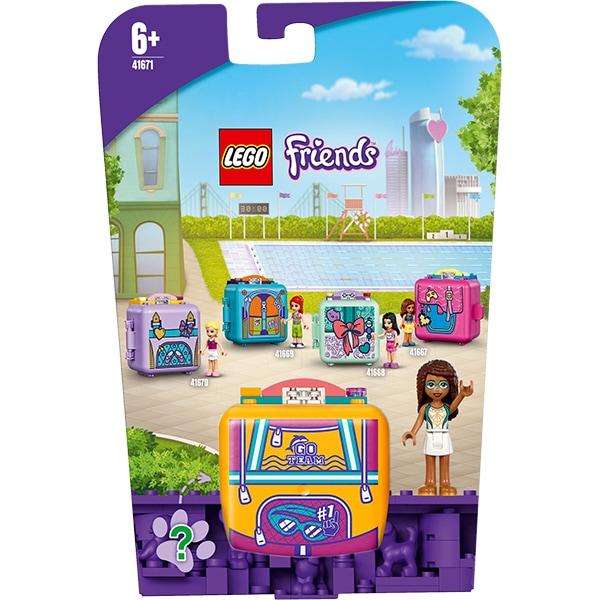 LEGO Friends: Cubul de inot al Andreei 41671, 6 ani+, 59 piese
