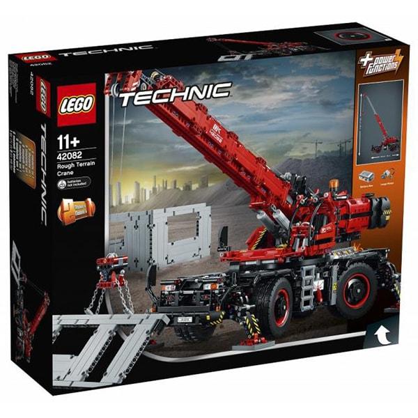 LEGO Technic: Macara pentru teren dificil 42082, 11 ani+, 4057 piese