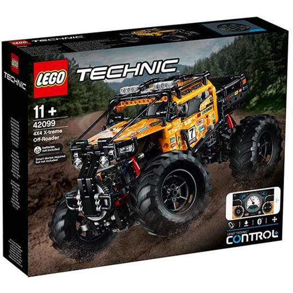 LEGO Technic: 4 x 4 X-treme Off Roader 42099, 11 ani+, 958 piese
