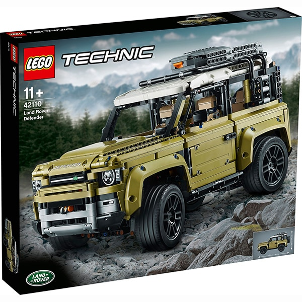 LEGO Technic: Land Rover Defender 42110, 11 ani+, 2573 piese