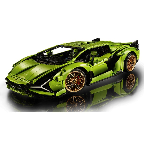 LEGO Technic: Lamborghini Sian FKP 37 42115, 18 ani+, 3696 piese
