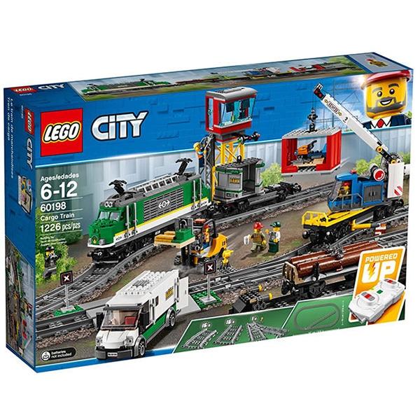 LEGO City: Tren marfar 60198, 6 - 12 ani, 1226 piese