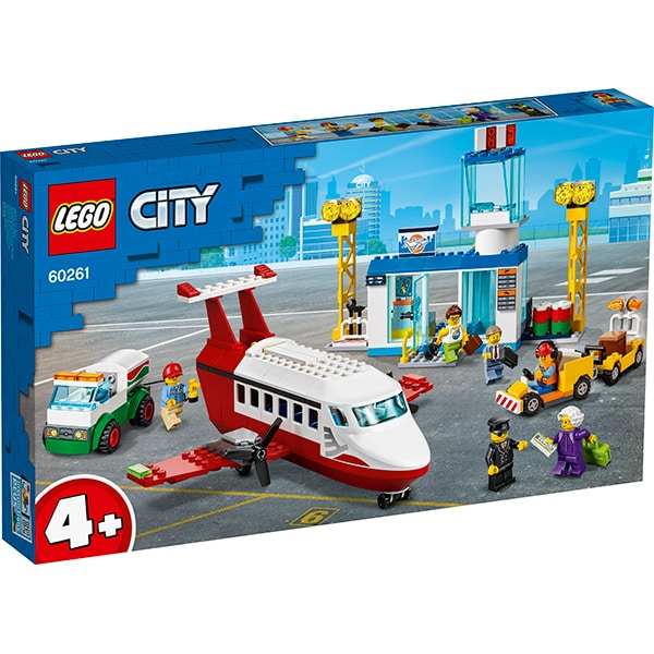 LEGO City: Aeroport central 60261, 4 ani+, 286 piese