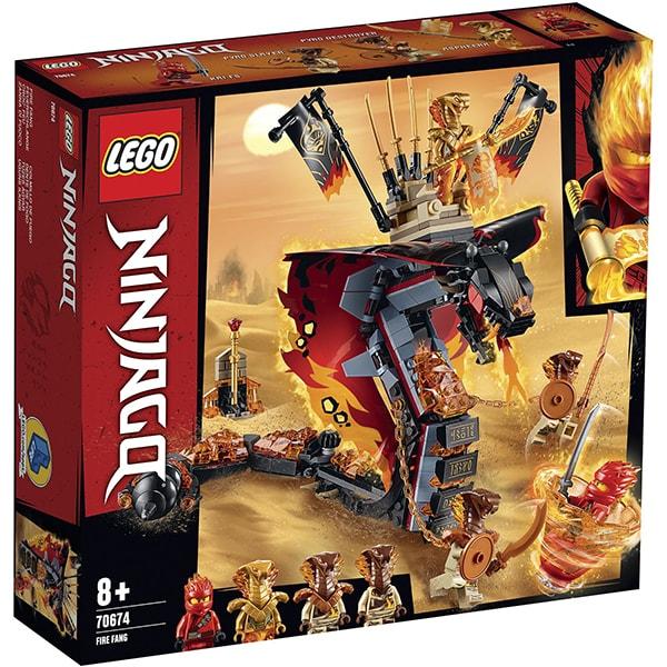 LEGO Ninjago: Gheara de Foc 70674, 8 ani+, 463 piese