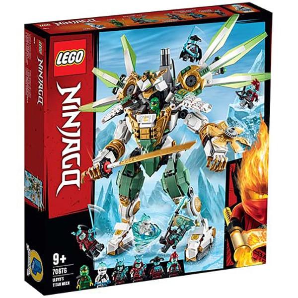 LEGO Ninjago: Robotul de Titan al lui Lloyd 70676, 9 ani+, 876 piese